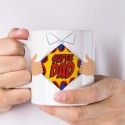 Mug thermoréactif super dad