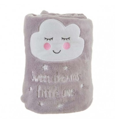 "Couverture polaire douce nuage ""sweet dreams"""