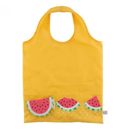 Tote bag pastèque tropical