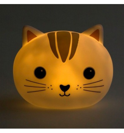 Lampe veilleuse chat kawaii