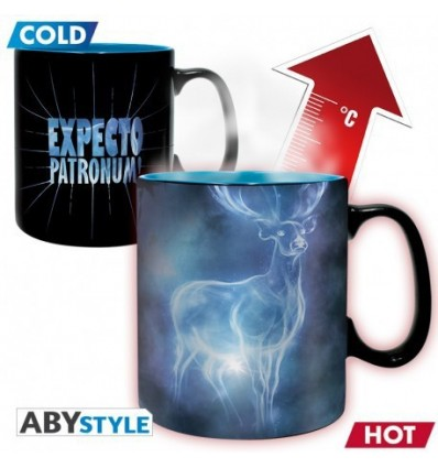 Mug Harry Potter thermoréactif - Expecto patronum