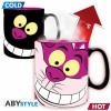 Mug thermoréactif chat Cheshire