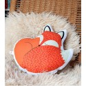 Coussin renard - Rusty the fox