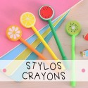 Stylos & crayons