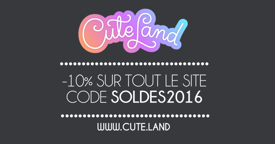 Soldes Cuteland hivers 2016